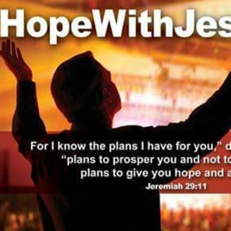 Finding HOPE with JESUS
